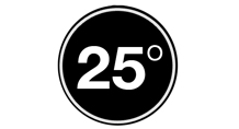 25 Degrees HB